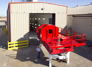 Completed Oilfield Draworks Skid with Marine Coating