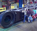 Large Critical Weldment for OEM Mining Equipment