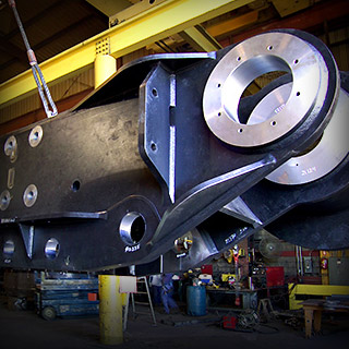 Heavy Steel Plate Fabrication Machining Flanges Irving Texas