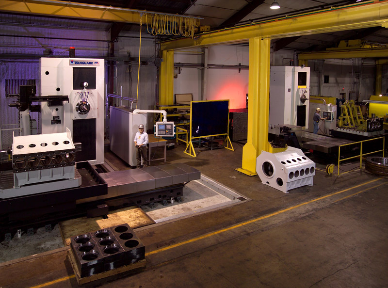 Large-Scale CNC Machining - Irving, Texas